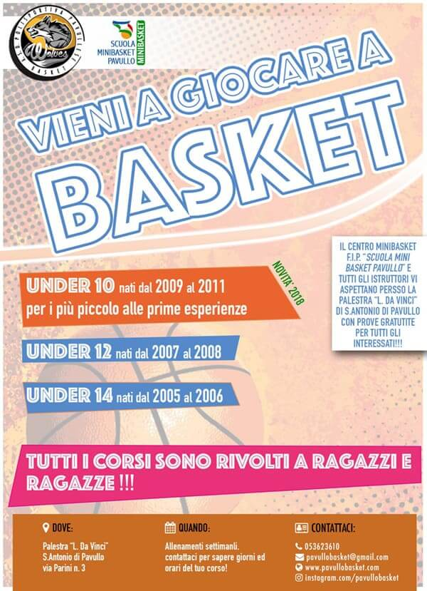 Locandina Mini-Basket
